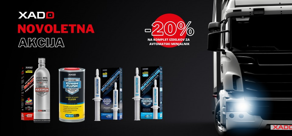 New Year's promotion! - 20%