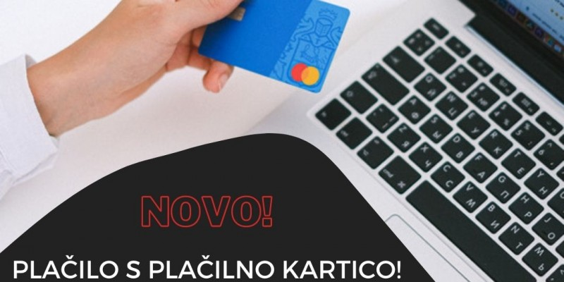 NEW! Payment with card