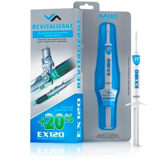 XADO Revitalizant EX120 for power steering & hydraulic equipment (8 ml)