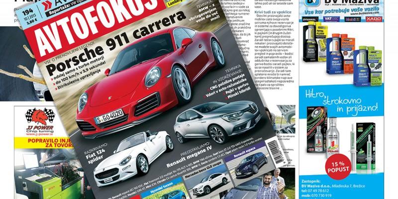 XADO products in the AvtoFokus Magazine