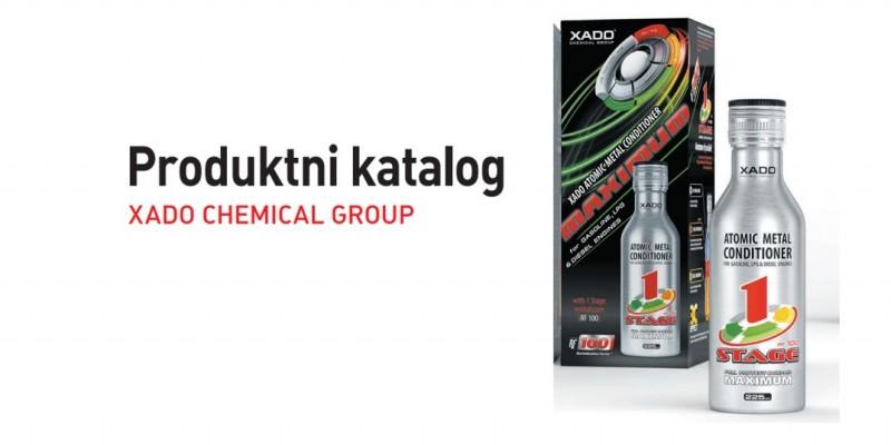 XADO product catalogue